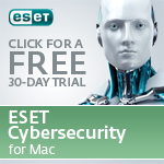 FREE 30-day trial of ESET CyberSecurity Trial