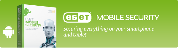 eset mobile security for smartphones product info