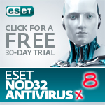 FREE 30-day trial of ESET NOD32 Antivirus Trial