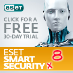 FREE 30-day trial of ESET Smart Security Trial