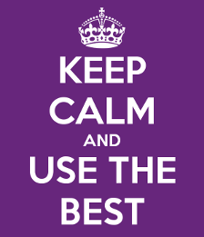 Keep Calm and Use the Best Protection!